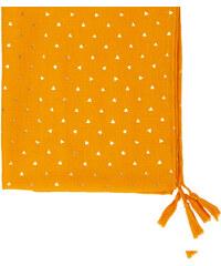 Foulard imprimé triangles dorés Etam
