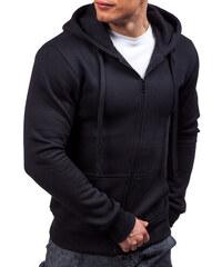Černá pánská mikina s kapucí Bolf 2008 49861d8842