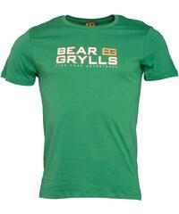 Bear Grylls Herren Graphic T-Shirt Grün