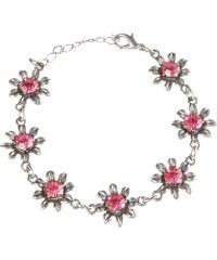 KABE Leder-Accessoires Trachtenarmband Damen aus Blütenblättern