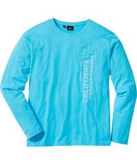 bpc bonprix collection T-shirt manches longues Regular Fit bleu homme - bonprix