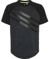 adidas Performance URBAN FOOTBALL PERFORMER Tshirt imprimé black/onix