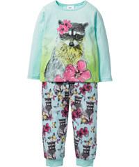 bpc bonprix collection Pyjama (2-tlg. Set) in grün für Mädchen von bonprix