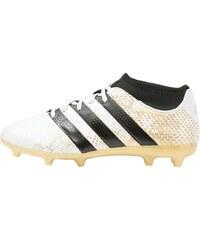 adidas Performance ACE 16.3 PRIMEMESH FG/AG Chaussures de foot à crampons white/core black/gold metallic