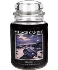 Village Candle Svíčka ve skle Obsidian - velká
