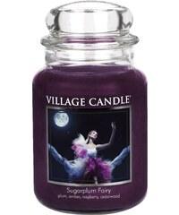 Village Candle Svíčka ve skle Sugarplum Fairy - velká