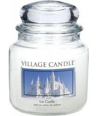 Village Candle Svíčka ve skle Ice Castle - střední