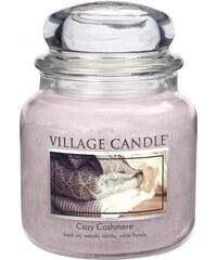 Village Candle Svíčka ve skle Cozy Cashmere - střední