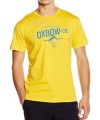 Oxbow T-shirt Tee Shirt MC Col Rond Saska Jaune -