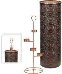 Dekorativní svícen na 4 čajové svíčky vysoký 50 cm ProGarden KO-A04420310