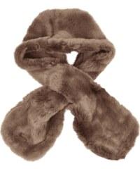 Seeberger Schal aus Webpelz
