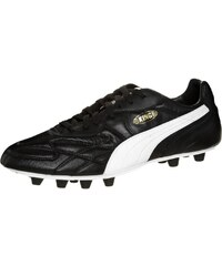 Puma KING TOP FG Chaussures de foot à crampons black/white/team gold