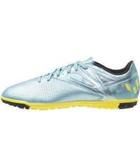 adidas Performance MESSI 15.3 TF Chaussures de foot multicrampons matt ice metallic/bright yellow/core black