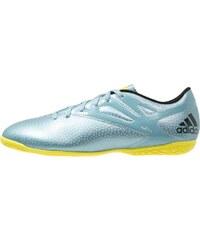 adidas Performance MESSI 15.4 IN Chaussures de foot en salle matt ice metallic/bright yellow/core black
