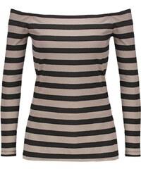 Supertrash TOSHA Tshirt à manches longues biscuit stripe
