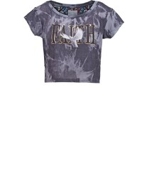 Cayler & Sons Tshirt imprimé acid washed grey/mc