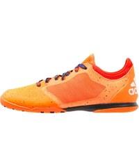 adidas Performance X 15.1 COURT Chaussures de foot en salle solar orange/white/core black