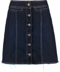 Vero Moda VMMERLE Jupe en jean dark blue denim
