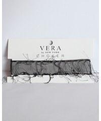 Vera by New York Black Stripe Choker Vera by New York
