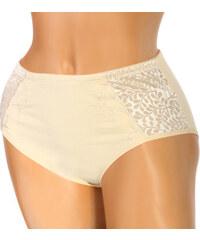 TopMode Kalhotky vysokým pasem a květinovým vzorem tělová