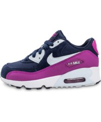 Nike Baskets/Running Air Max 90 Enfant Bleu Marine Enfant