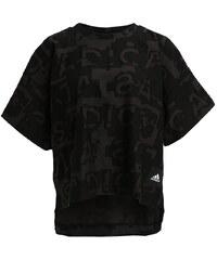 adidas Performance Tshirt imprimé dark grey
