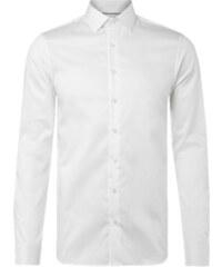 Calvin Klein Slim Fit Business-Hemd mit Webstruktur