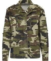 GLAMOROUS Camouflage Jacke mit Pailetten