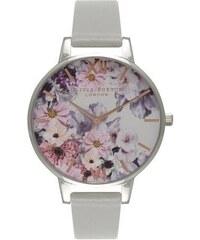 Montre Olivia Burton Enchanted Garden - Grey et Silver
