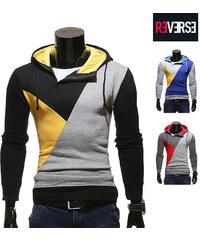 Re-Verse Sweatshirt à capuche color block