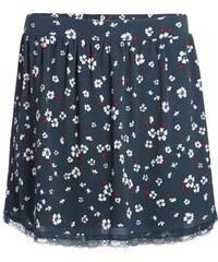 Jupe fluide imprimée fleurie Bleu Polyester - Femme Taille 36 - Cache Cache