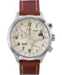 Timex Special Intelligent Quartz - Uhr mit Lederarmband - braun