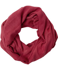 Cecil - Foulard large à broderie - antique red