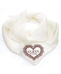 Guess hedvábný šátek s kamínky