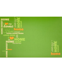 Prostírání SWEET HOME 30x45 cm zelená Essex