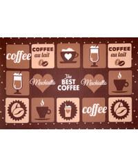 Prostírání PATISSERIE 30x45 cm hnědá kávový motiv Essex