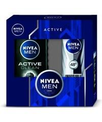 Nivea Men Pánská dárková kazeta Active Clean