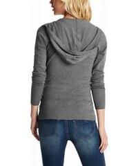 GUESS svetr Geanna Hoodie Sweater bordový vel. XS