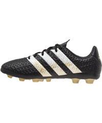 adidas Performance ACE 16.4 FXG Chaussures de foot à crampons core black/white/gold metallic