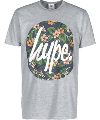 Hype Flower Circle T-Shirt grey