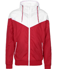 Urban Classics Arrow Windbreaker red/wht