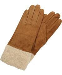 Vero Moda VMANIE Fingerhandschuh tobacco brown