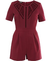 Missguided Combinaison burgundy