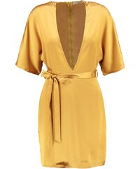 Missguided Robe de soirée mustard