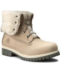 Turistická obuv CANGURO - A028-301 Bianco
