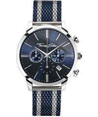 Thomas Sabo Herrenuhr ´´REBEL SPIRIT CHRONO´´ blau WA0285-281-209-42 mm