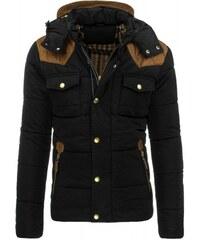 Pánská zimní bunda Dools černá - černá