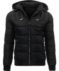Pánská zimní bunda Hokus černá - Červená/Bílá