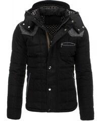 Pánská zimní bunda Mocasino černá - černá
