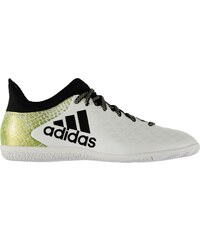 adidas X 16.3 Indoor Court Trainers pánské White/Blk/Gold